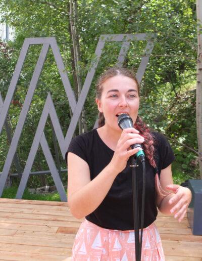 Marianne V en spectacle pour la brise culturelle de la Ville de Sherbrooke - 6 septembre 2020